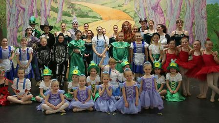 The Vera Frances School of Dance performed The Wizard of Oz in aid of the Guide Dogs for the Blind C