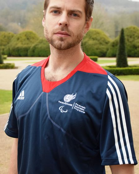 John Huntington is one of six athletes taking part in the Paralympic Inspiration Programme