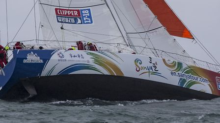 2018 Clipper Round the World Yacht Race. Photo: onEdition