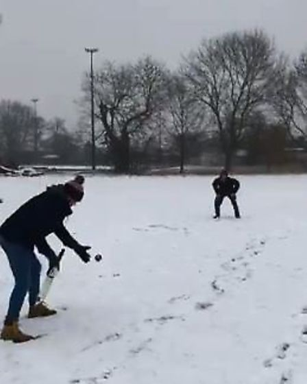 Fenland today: Wisbech Cricket Club getting in some practice