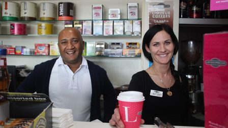 Shop assistant Nav Aggarwal helped source a customer's favourite tea and earned a nomination as the
