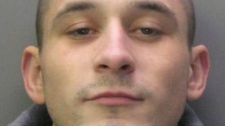 Damian Rabinski, who burgled a Peterborough home while the occupants slept, has been jailed