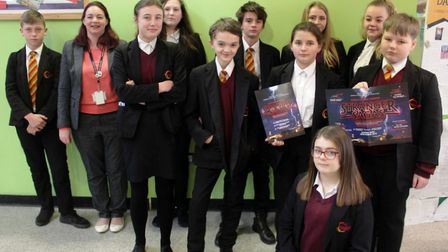 Students at Neale-Wade Academy have been shortlisted in a national creative writing competition base
