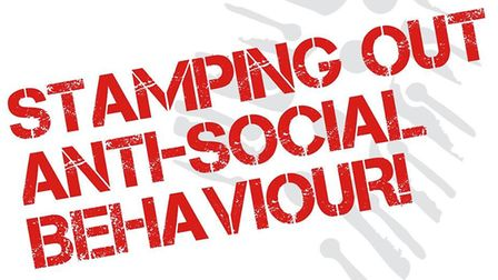 Anti social behaviour logo used by Cambs Police in the Fens