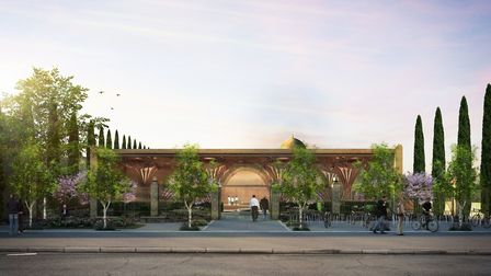 The Cambridge Mosque will be the highest value mosque in Europe, worth approx. 24million when finish