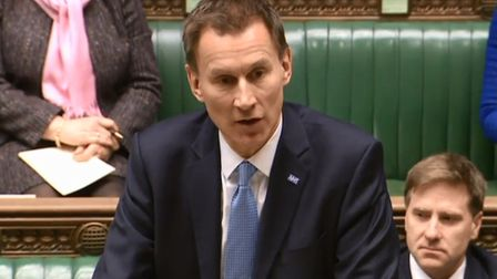 Jeremy Hunt, Health and Social Care Secretary, admitted: There are three areas of potential medical