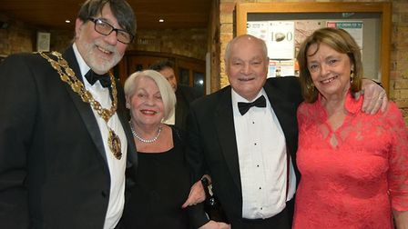 Mayor Richard Hobbs and his wife entertained civic guests and friends and supporters to the annual C