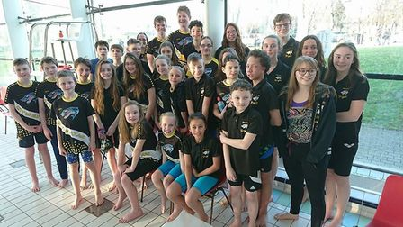 Cambridgeshire County Swimming Championships finished on Saturday after a long slog through January
