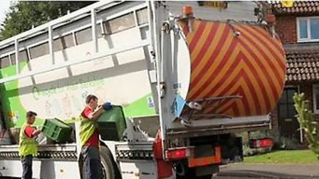 Waste collections in East Cambs suspended for today because of the adverse weather and for safety re
