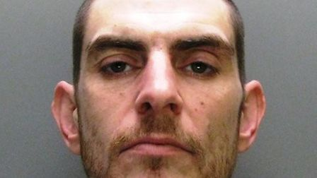 Michael King is jailed for stealilng a police officer's car in Burwell