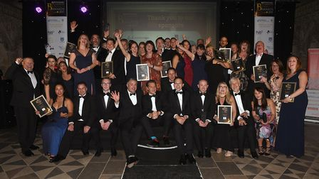 Ely Business Awards night 2017 - All winners and finalists.