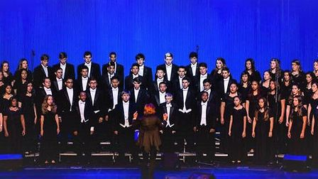 The Heritage Christian High School Concert Choir will perform in Cambridge on April 7