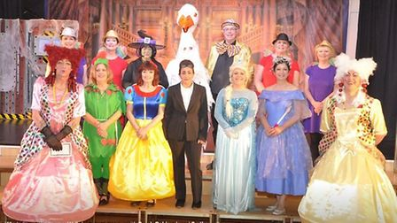 Panto by this wonderful group of village thespians, the Beeches Players of Isleham.