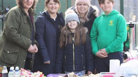 Ely City Hockey Club juniors raise £402 at weekend tournament. During the tournament parents helped