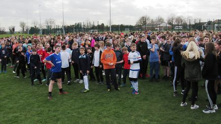 Cromwell Community College raise money for Sport Relief