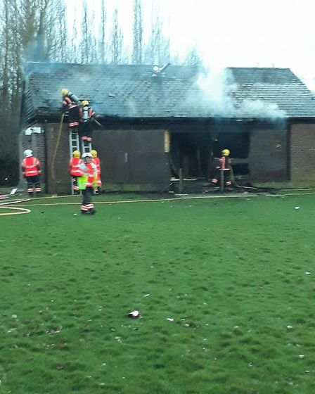 Last night at around 6.45pm, two crews from Wisbech and one crew from March were called to the fire
