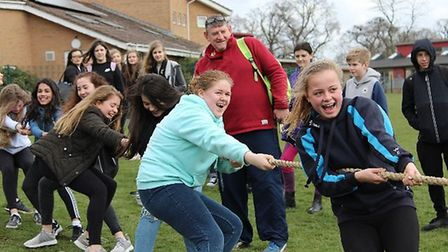 Soham Village College raise a further £1,300 for Sport Relief in fund-raising activities.
