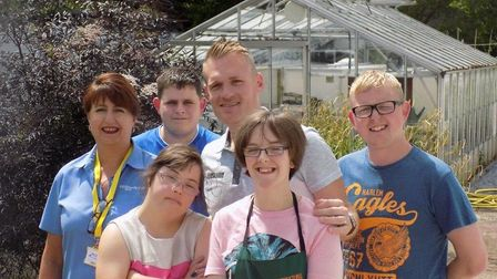 FACET have a range of training facilities including a well stocked gardening area.