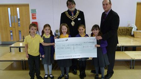 The Lantern Community Primary School were also given money from Ely Fireworks 2017
