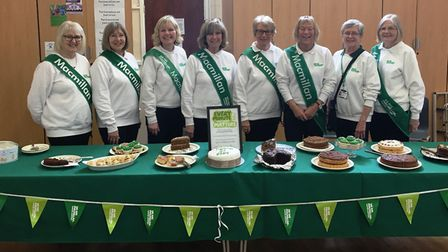 Hundreds attended a coffee morning to mark 50 years of fundraising by the March, Chatteris and Distr