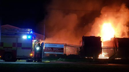 £500,000 worth of vehicles destroyed in arson attack at Glazewing, Hostmoor, March. PHOTO: Stuart Mo