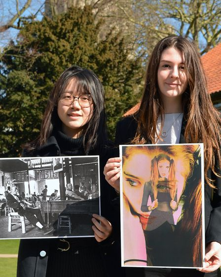 King's Ely Sixth Form students Lexy Chen and Gaia Giardinelli have been shortlisted in a competition