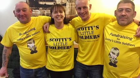 Simon Whittaker will be lacing up his walking boots alongside his pals Tracie, Nigel and Melvin.