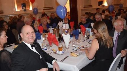 Witham employees and friends at the Annual Dinner Dance