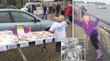Ellee Handscomb will walk from Littleport to Ely to raise money for Addenbrookes Hospital where she