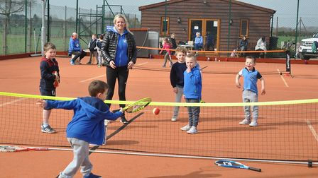 Great fun was had by our junior players at Friday mornings Easter Tennis Camp held at Wisbech Tennis