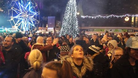 A previous Ely Christmas Lights