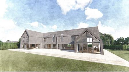 A five bedroom, two storey farmhouse has been put forward to East Cambridgeshire planners by Charles