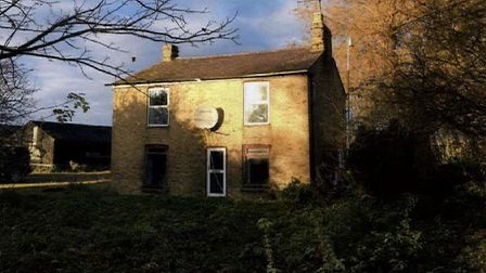 This is the house that could be replaced by a five bedroom, two storey farmhouse at Dimmocks Cote Fa