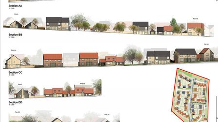 Haddneham Community Land Trust - successful in their application for new homes at West End, Haddenha