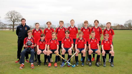Felsted's under-14 boys are through to the national hockey finals