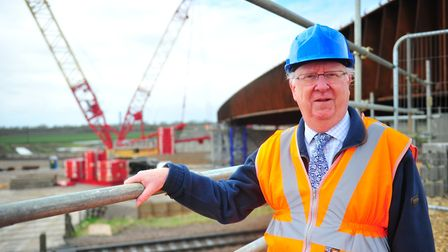 Councillor Ian Bates, chairman of the council's economy and environment committee. The Ely southern