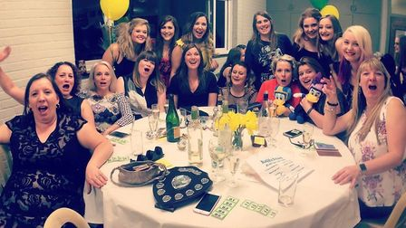 ECHC Ladies 3s - The annual end of season Ely City Hockey Club dinner and awards ceremony. PHOTO: Su