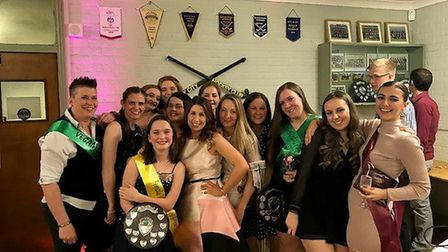 ECHC Ladies 2s - The annual end of season Ely City Hockey Club dinner and awards ceremony. PHOTO: Su