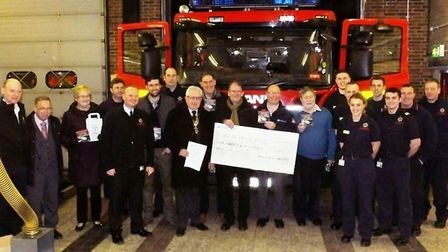 Whittlesey Rotarians and Cambridgeshire Fire and Rescue team up to provide free smoke alarms for vul