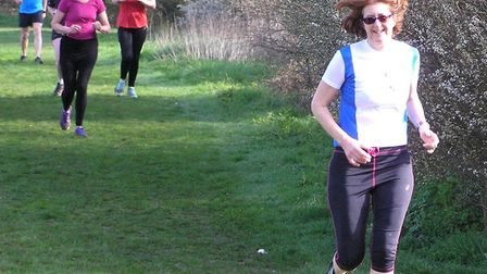 GFDR's Julia Fermor at the Dunmow parkrun