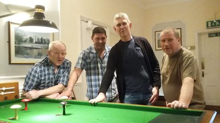 A Soham man has scooped first prize at the East Anglian open 4-pin Bar Billiards competition.