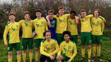 Dunmow Rhodes under-16s are into the league cup final