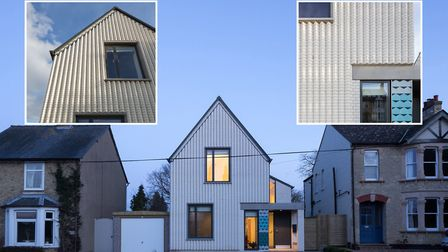 Fijal House in Ely has been shortlisted in a regional architecture award ceremony. Photo: Mathew Smi
