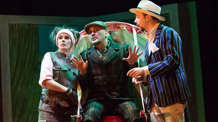 The KD Theatre Productions cast of The Wind in the Willows, which is at the Maltings in Ely from Fri