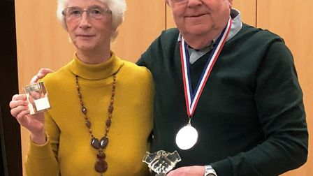 March and District Deaf Club stalwarts Godfrey and Catherine Palmer have stepped down after 34 years