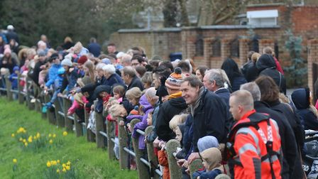 Whittlesey Duck Race, Easter Monday: PHOTO: RWT Photography, The crowds flock to the bower