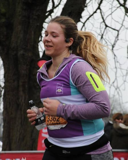 A local mum of two will be hitting the ground running on Sunday 22nd April, Jessica Heslop (Age 31)