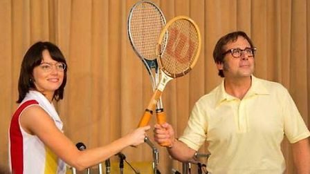 Battle of the Sexes is being screened by the Ely City Amnesty Group this Saturday, April 14, in the