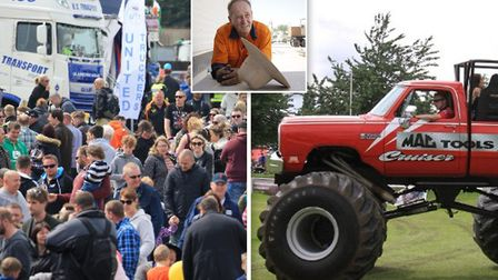 Truckfest is returning to Peterboroughs East of England Showground in May heres everything you need