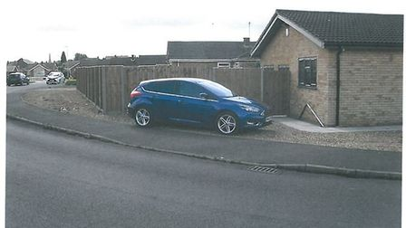 Fence by house in Whittlesey will be allowed to stay. Picture: Fenland District Council